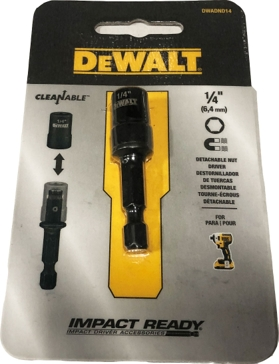 "Dewalt 1/4"" Impact Ready Cleanable Nut Driver DWA2221IR"