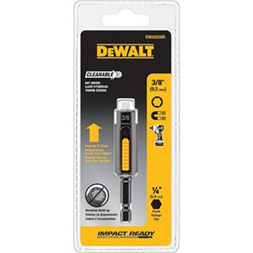 "Dewalt 3/8"" Impact Ready Cleanable Nut Driver DWA2223IR"
