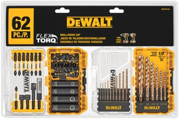 DeWalt Flextorq Drill/Drive Set 62 PC.