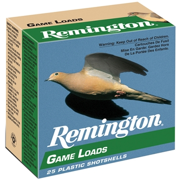 "Remington Lead Game Loads - 12ga 2-3/4"" 6-Shot"
