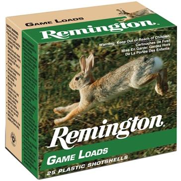 "Remington Lead Game Loads - 20ga 2-3/4"" 6-Shot"