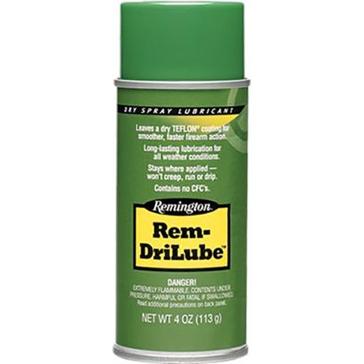 Remington Rem-DriLube Gun Cleaning 4oz. Dry Spray
