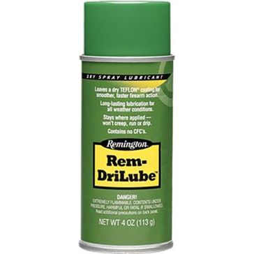 Remington Rem-DriLube Gun Cleaning 4oz. Dry Spray