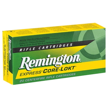 Remington Core-Lokt 30-06 Springfield 150 GR PSP 20RD