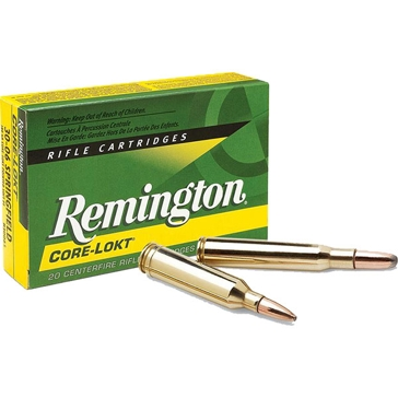 Remington Core-Lokt 30-06 Springfield 180 GR PSP 20RD