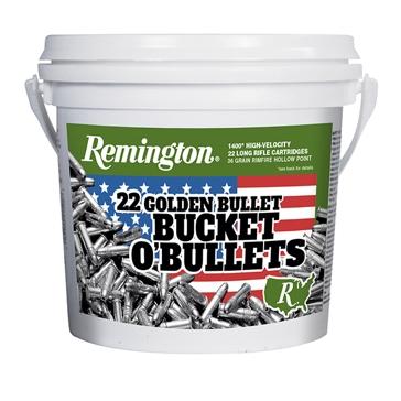 Remington 22 Golden Bullet Bucket O'Bullets 1400RD