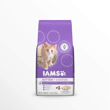 IAMS ProActive Health Kitten with Chicken Dry Cat Food 3.5lb.