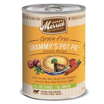 Merrick Grain Free Grammy's Pot Pie Classic Recipe Wet Dog Food 12.7oz