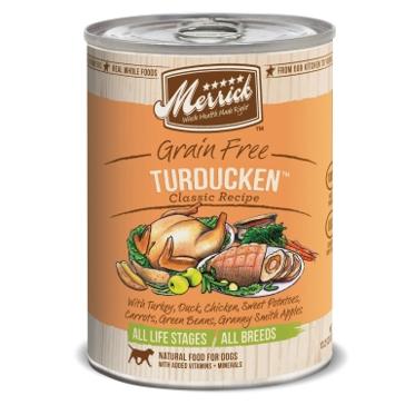 Merrick Grain Free Turducken Classic Recipe Wet Dog Food 12.7oz