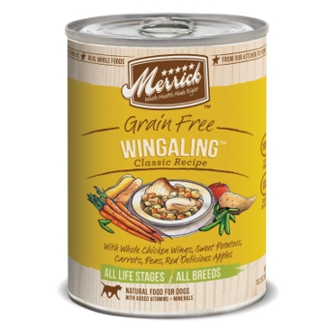 Merrick Grain Free Wingaling Classic Recipe Wet Dog Food 12.7oz
