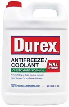 Durex Full-Strength Anti-Freeze and Coolant 1 Gallon