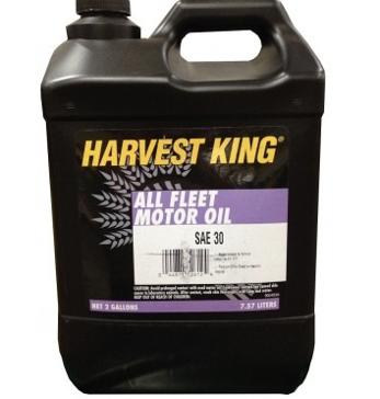 Harvest King SAE 30 All Fleet Motor Oil 2 Gallons