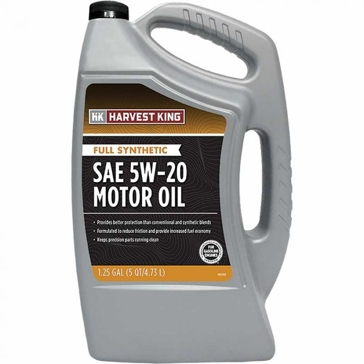 Harvest King Full Synthetic SAE 5W-20 Motor Oil - 5 qt.