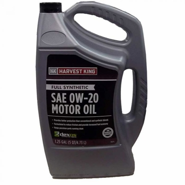 Harvest King Fully Synthetic SAE 0W-20 Motor Oil 1.25 Gallon