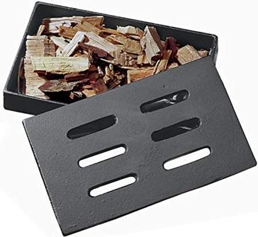 Char-Broil Cast Iron Steel Smoker Box