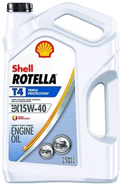 Shell Rotella-T 15w-40 T4 Triple Protection Motor Oil