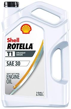 Shell Rotella T1 SAE30 Engine Oil 1 Gallon 550045380