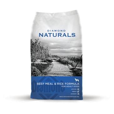 Diamond Naturals Beef Meal & Rice Formula Adult Dry Dog Food 40lb