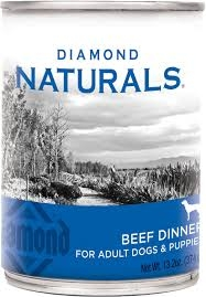 Diamond Naturals Real Meat Recipe Premium Canned Beef 13.2 OZ