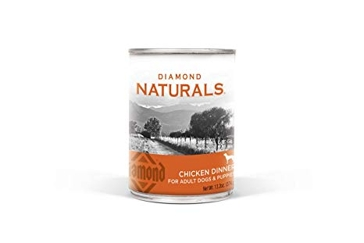 Diamond Naturals Real Meat Premium Canned Wet Food Chicken 13.2 OZ