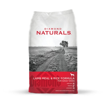 Diamond Naturals Lamb Meal & Rice Adult Dry Dog Food 40lb