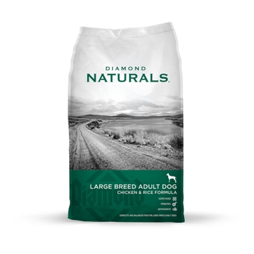 Diamond Naturals Large Breed Chicken & Rice Formula Adult Dry Dog Food 40lb