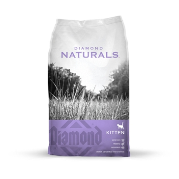 Diamond Naturals Kitten Dry Cat Food 6lb