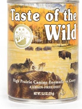 Taste of the Wild High Prairie Wet Dog Food 13oz