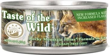 Taste of the Wild Rocky Mountain Wet Cat Food 3oz