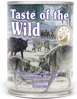 Taste of the Wild Sierra Mountain Wet Dog Food 13oz