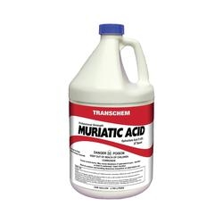 SUNBELT CHEMICALS MA1 Muriatic Acid, 1 gal Bottle