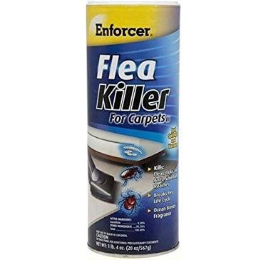 Enforcer Flea Killer for Carpets 20 ounce Ocean Breeze Fragrance