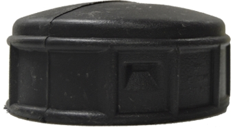 Timewell Tile 4in Snap-On End Cap-Tile