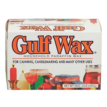 Gulf Wax 1 Lb. Household Paraffin Wax 24/1 PARAFFIN