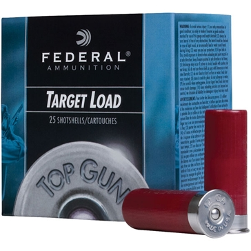 Federal Top Gun Target Load 12ga 1-1/8oz 8 Shot