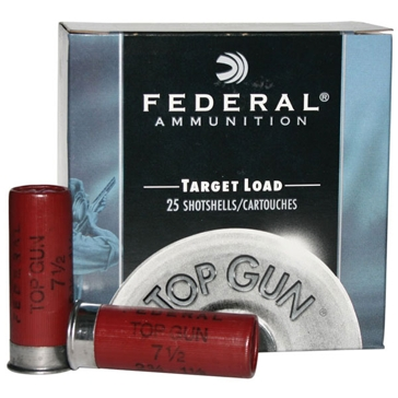 Federal Top Gun Target Load 20ga 7/8oz 7-1/2 Shot