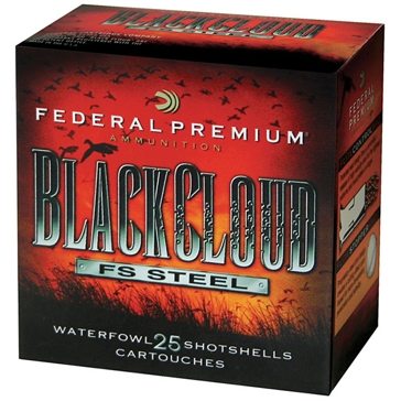 Federal Black Cloud FS Steel Waterfowl Shotshells 12ga 2 Shot