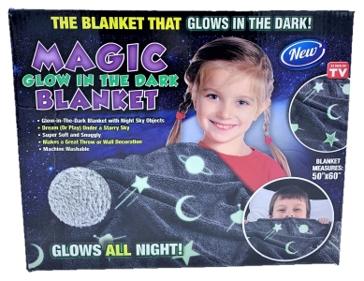 Magic Glow In The Dark Blanket