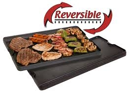 Camp Chef Reversible Pre-Seasoned Cast Iron Griddle & Grill