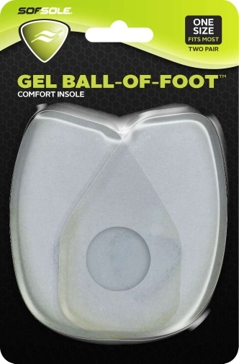 Sof Sole Ball of Foot Gel Pads 18901