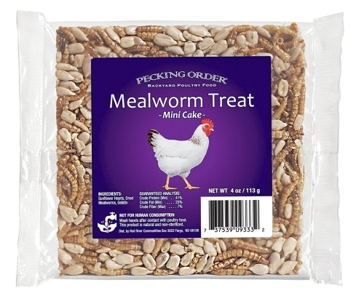 Pecking Order Mealworm Cake