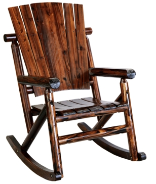 United General Log Single Rocking Chair