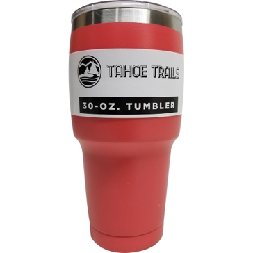 Tahoe Trails Tumbler - 30 Oz. - Coral