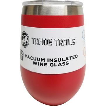 Tahoe Trails Wine Tumbler - 12 Oz. - Red