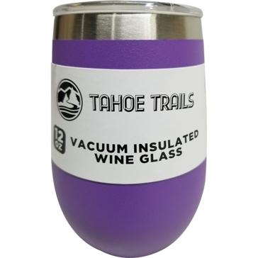 Tahoe Trails Wine Tumbler - 12 Oz. - Purple