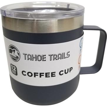 Tahoe Trails Mug- 12 Oz. - Charcoal