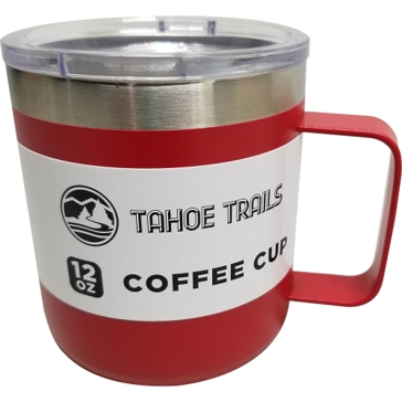 Tahoe Trails Mug - 12 Oz. - Red