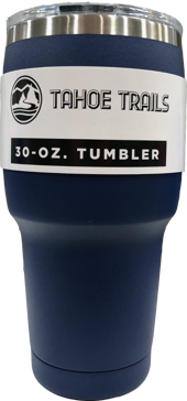 Tahoe Trails Tumbler - 30 Oz. - Navy