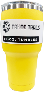 Tahoe Trails Tumbler - 30 Oz. - Yellow