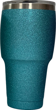 Tahoe Trails Tumbler - 30 Oz. - Blue Sparkle